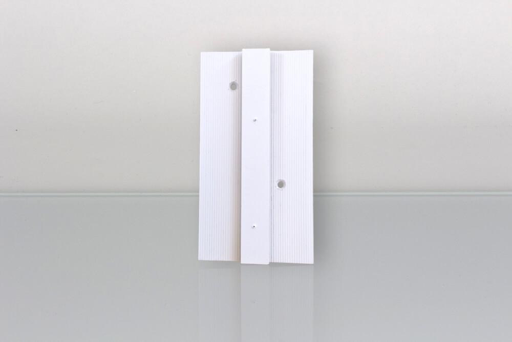 Coulisseau Clôtures PVC Kit