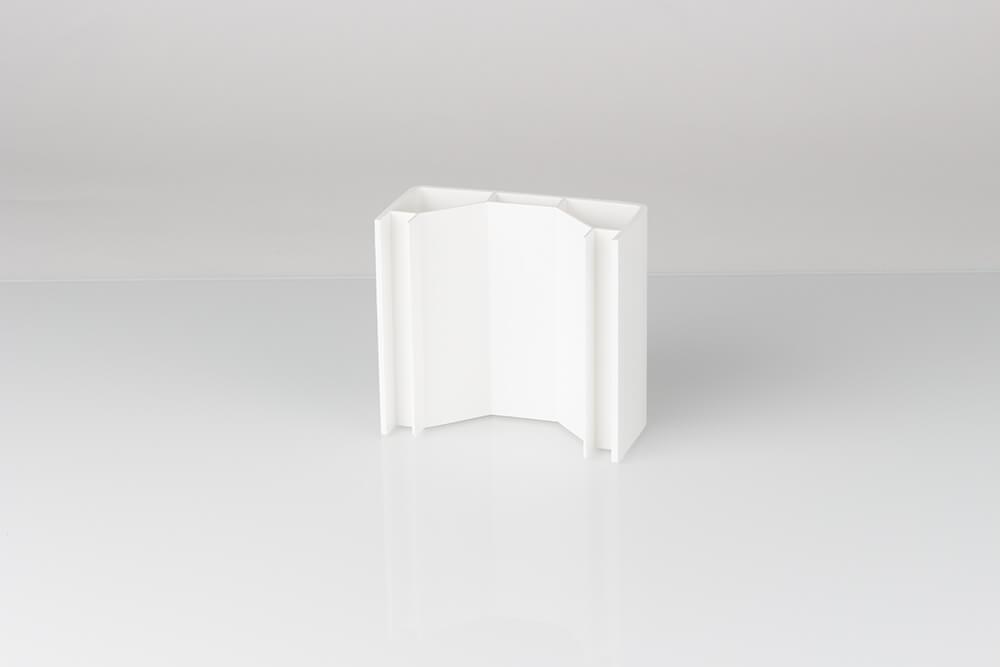 Demi-potelet Clôtures PVC Kit