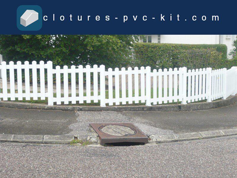 R alisations de nos clients cl tures pvc kit - Cloture pvc en kit ...