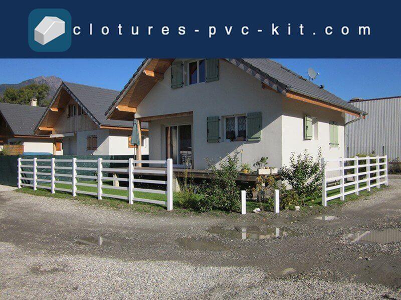 Clôtures PVC Kit
